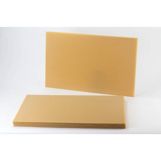 Medzistienka-čistý vosk rozmer E-39x14,5
