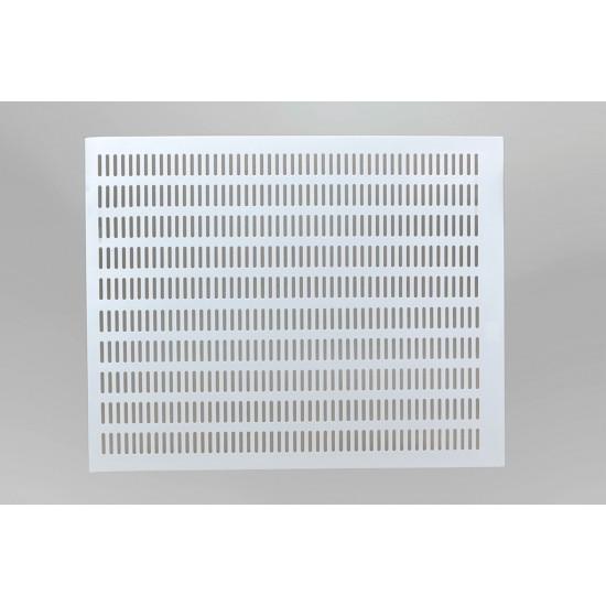 Materská mriežka biela  PLAST 50x50
